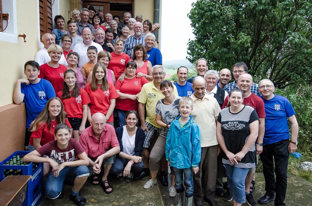 Gruppenfoto Seiburger Treffen in Seiburg
